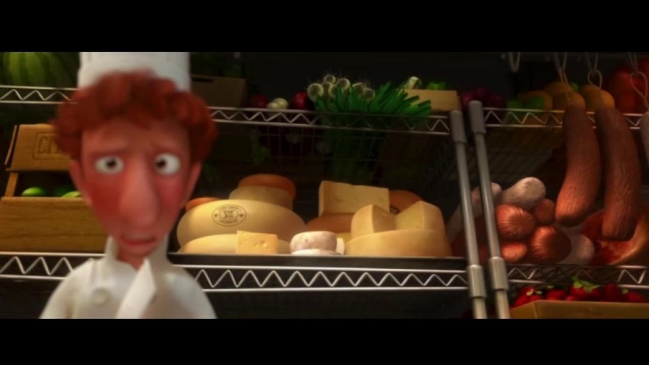 Фильм про еду на английском (мультфильм Рататуй) - YouTube