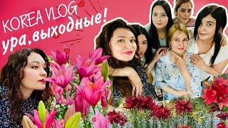 Цветы-гиганты и весёлая компания/KOREA VLOG