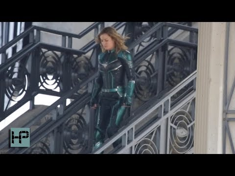 Brie Larson Filming 'Captain Marvel' In LA