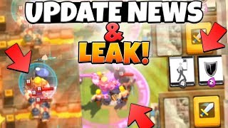 NEXT UPDATE NEWS & NEW HERO LEAKS! | Clash Royale | MY CRAZIEST WAR MATCH EVER!