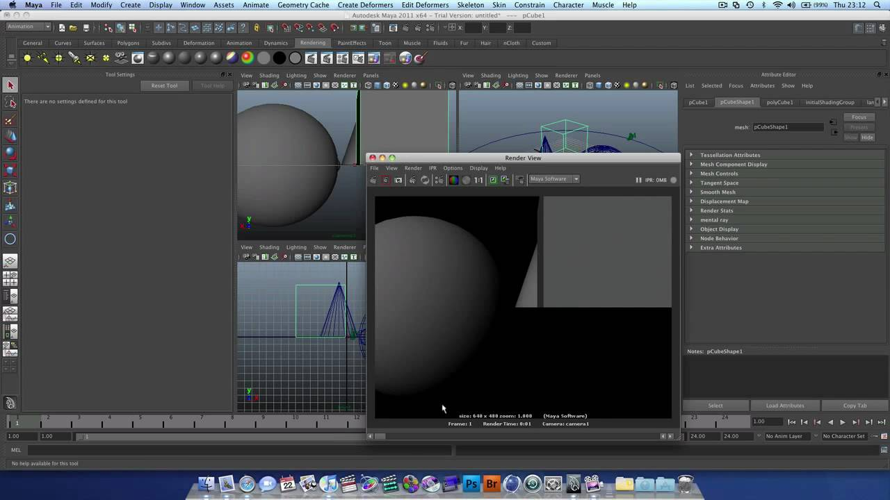 Autodesk Maya Tutorial : How to Export / Render out files