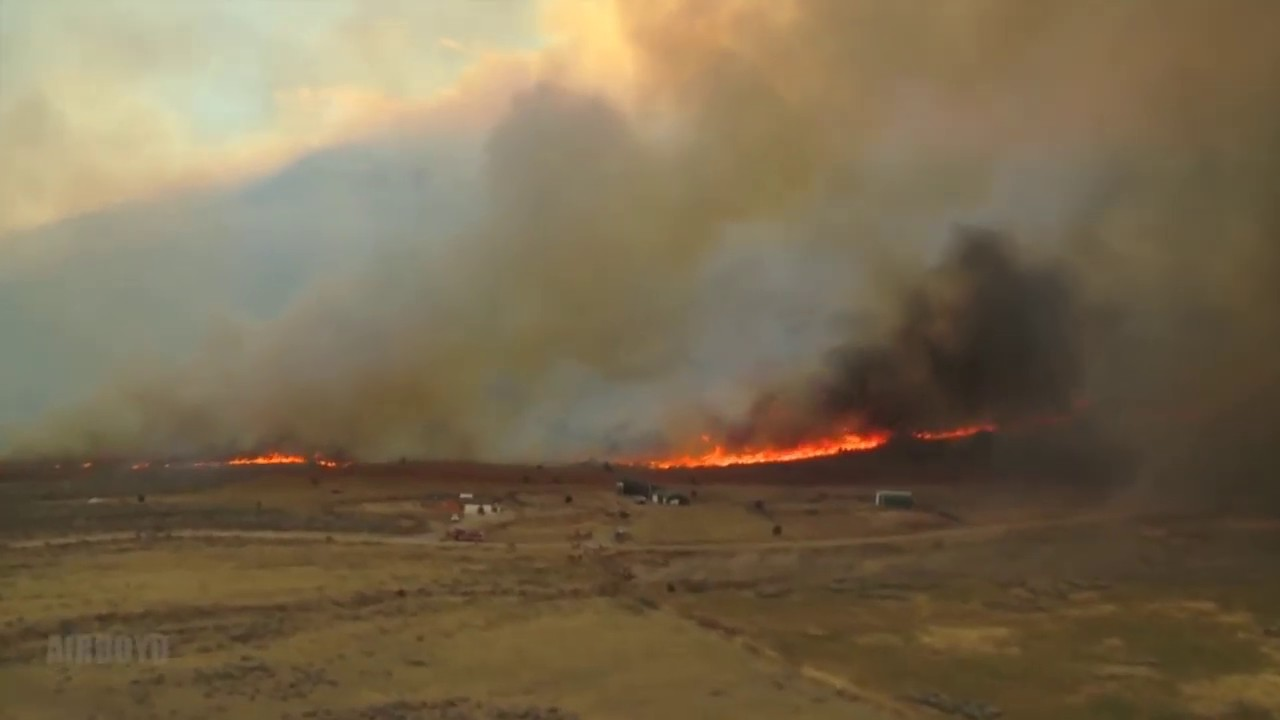 Utah Guard fights fires with Black Hawks
