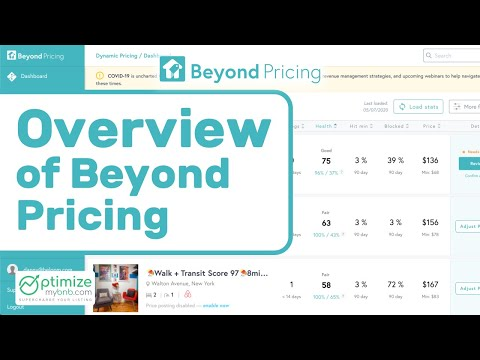 Overview of Beyond Pricing, Airbnb Smart Pricing