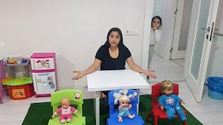 Kardeşim Bebeklerimi Sakladı  شفا و توأمتها الكسولة !!