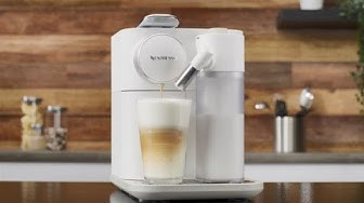 Nespresso Gran Lattissima - Milk-based beverages preparation