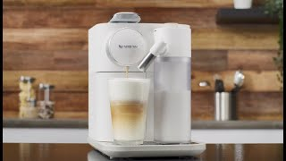 Nespresso Gran Lattissima - Milk-based beverages preparation