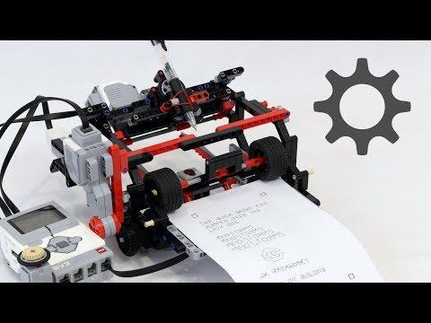 LEGO Telegraph / Printer Setup and Calibration