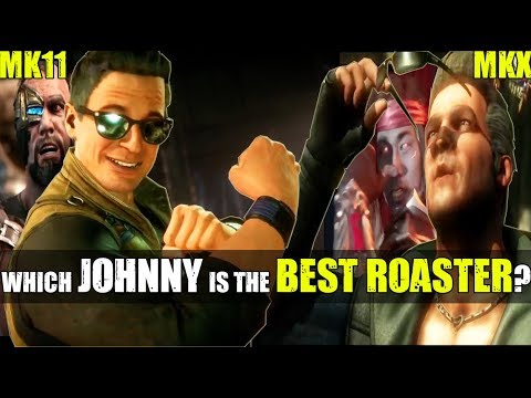 Which Johnny Cage Is The Best Roaster - MKX or MK11? (Relationship Banter Intro Dialogues)