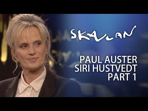 Paul Auster & Siri Hustvedt Interview | Part 1 | Skavlan