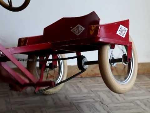 Grilloil Mitico Triciclo Per Bambini
