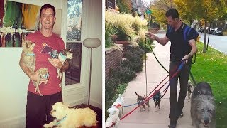 Man takes a trip to the shelter after his best friend passes, doesn't leave empty handed