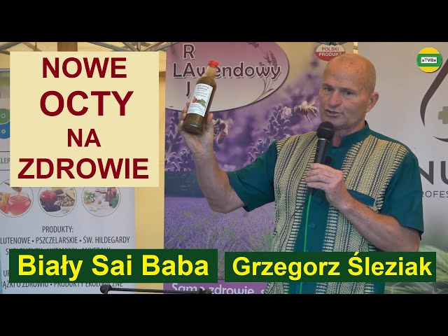 ZOBACZ NA CO SĄ NAJNOWSZE OCTY, KTÓRE ZROBILIŚMY Biały Sai Baba - Grzegorz Śleziak