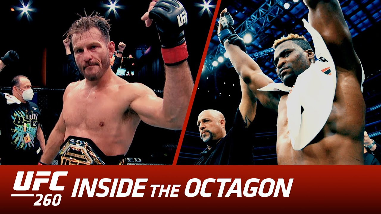 UFC 260 Inside the Octagon: Miocic vs Ngannou 2