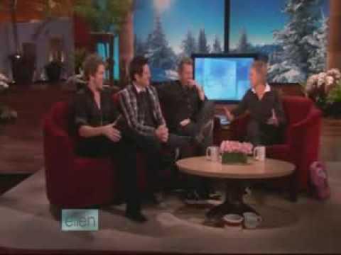Rascal Flatts Interview At Ellen Show 03 12 2009
