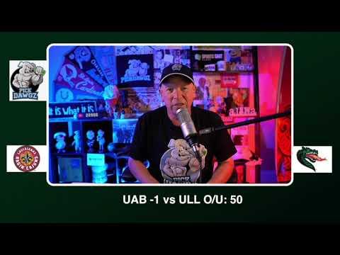 UAB vs Louisiana Free College Football Picks and Predictions CFB Tips Friday 10/23/20
