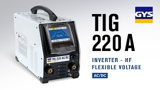 GYS - TIG 220 AC/DC (english version)