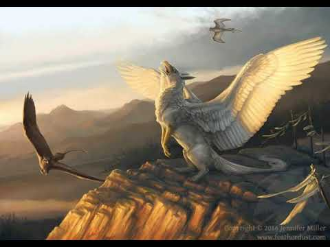 Griffin gryphon mythical creature fantasy artwork youtube - A picture of a griffin the creature ...