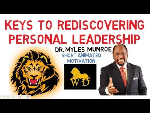 IF ONLY YOU KNEW THIS ----- 3rd World People By Dr Myles Munroe (Must Watch)
