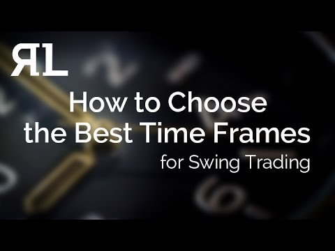 How to Choose the Best Time Frames for Swing Trading?