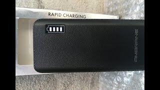 Ambrane P-1133 12500 mAh Power Bank 799 || Flipkart Unboxing