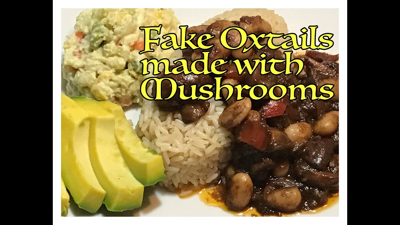 Episode 85 - FAKE OXTAILS MADE WITH MUSHROOMS ⎜ EVERYTHING PAULETTE