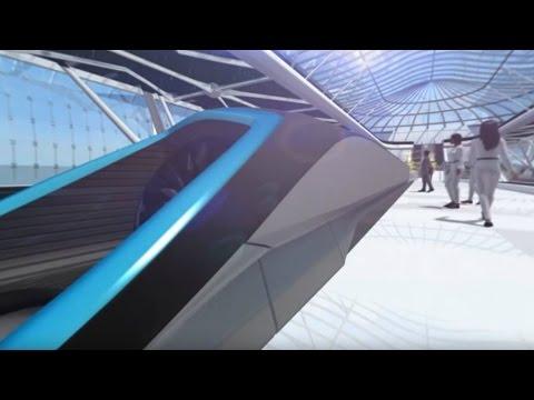 360 Video - Take a ride on Elon Musk's Hyperloop