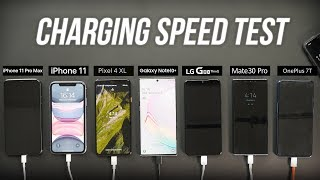 2019 Smartphone Fast Charging Speed Test: Every Major Flagship Compared!