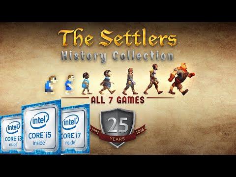 The Settlers History Edition | Intel Kaby Lake (HD 620) | HD |