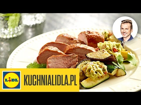 Pieczone Polędwiczki W Papryce Z Guacamole Karol Okrasa Przepisy Kuchni Lidla