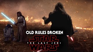 Star Wars The Last Jedi - Old Rules Will Be Broken!