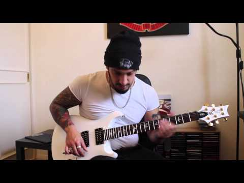 How to play 'Crazy Train' by Ozzy Osbourne Guitar Solo Lesson w/tabs