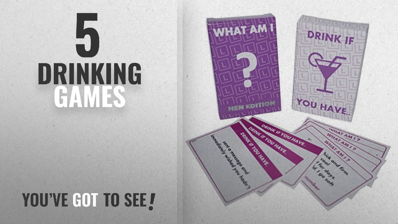 WHAT AM I ? DRINK IF YOU HAVE ....•:* 2 GAMES *:•. Hen Night Party Games