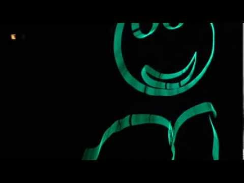 El wire stickman stick person - light hearted smiley playing hide ...