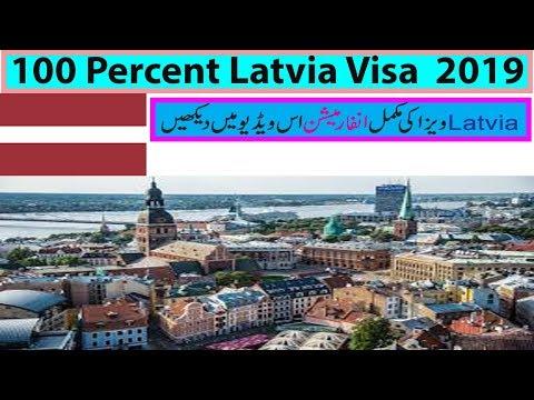 100 percent Latvia Visa  2019 by ayaan ali in germany