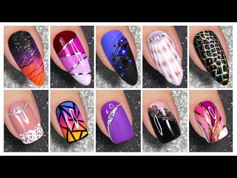 Nail Art Designs 2020   Best Nail Art Compilation