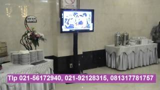 Sewa Standing Tv Plasma Rental Standing Floor Lcd Tv Penyewaan Stand Bracket Led Televisi