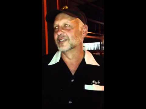 Nick Searcy's reaction to his daughter Chloe Searcy's play,
