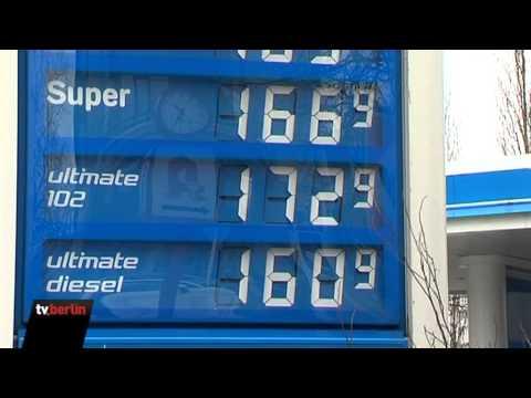 Berliner Stöhnen über Rekord-Benzinpreise