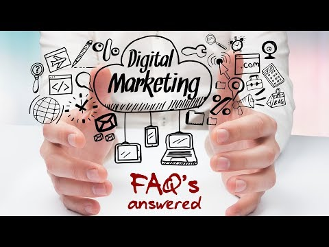 FREE Digital Marketing Webinar FAQ's and Answers