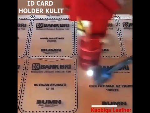 Jual ID Cart Holder Kulit - Hub. 089656586168