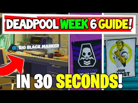 Deadpool Week 6 In 30 Seconds!
