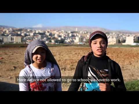 #EveryLastChild - Children exluded from Education- Lebanon