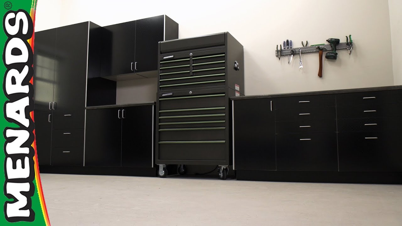 Klearvue Cabinetry Garage Cabinets Menards Youtube