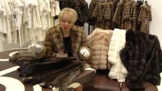 видео Куртка из баргузинского соболя с капюшоном, шуба из меха соболя