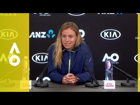 Angelique Kerber press conference (QF) | Australian Open 2018