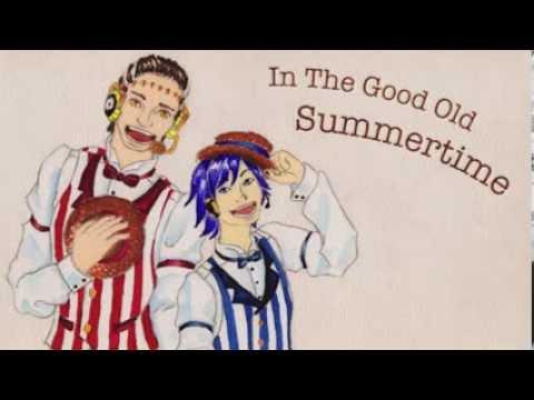 VOCALOID's Barbershop Quartet - In The Good Old Summertime