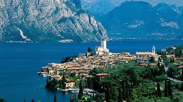 Lake Garda - Malcesine and Monte Baldo [4K]