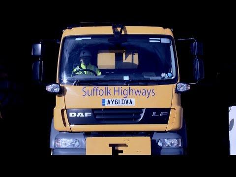 Gritting Suffolk's Roads