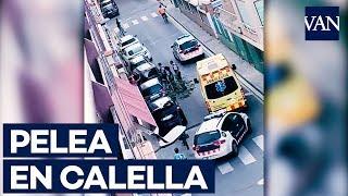 Pelea multitudinaria en Calella con menores tutelados tras el robo de un móvil