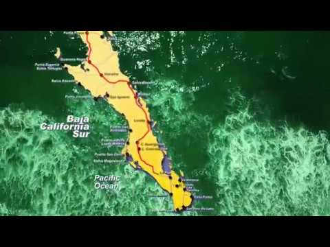 Mexico Baja California Roadtrip 2017 - Tijuana To Cabo San Lucas 4k